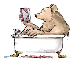 bear-reading-in-the-bath