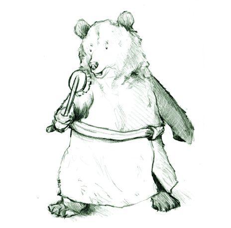bear-singing-in-towel