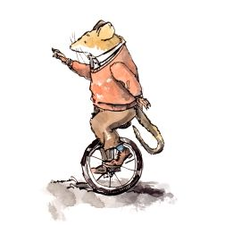 unicycle-steve