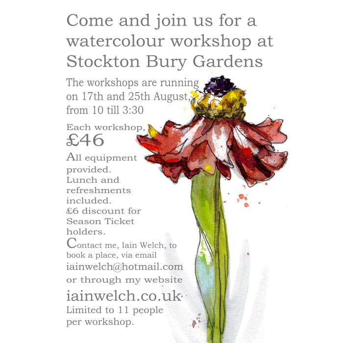 stockton bury workshop poster