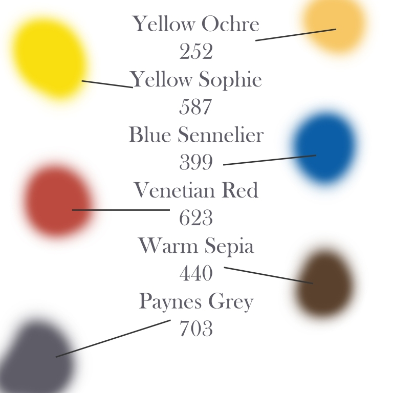 suggested colours
