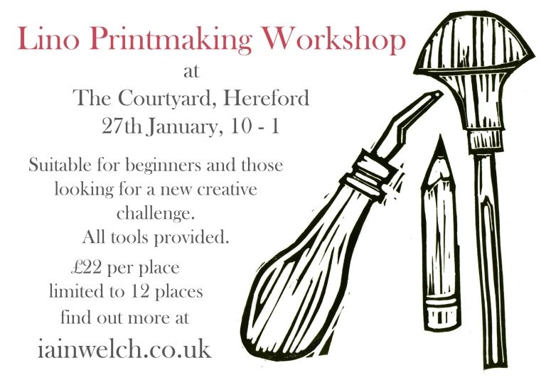 courtyard printmaking workshop