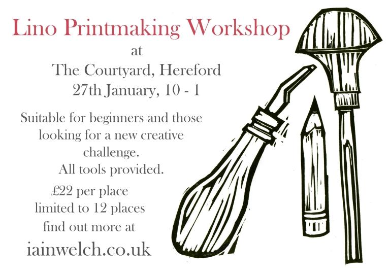 courtyard printmaking workshop