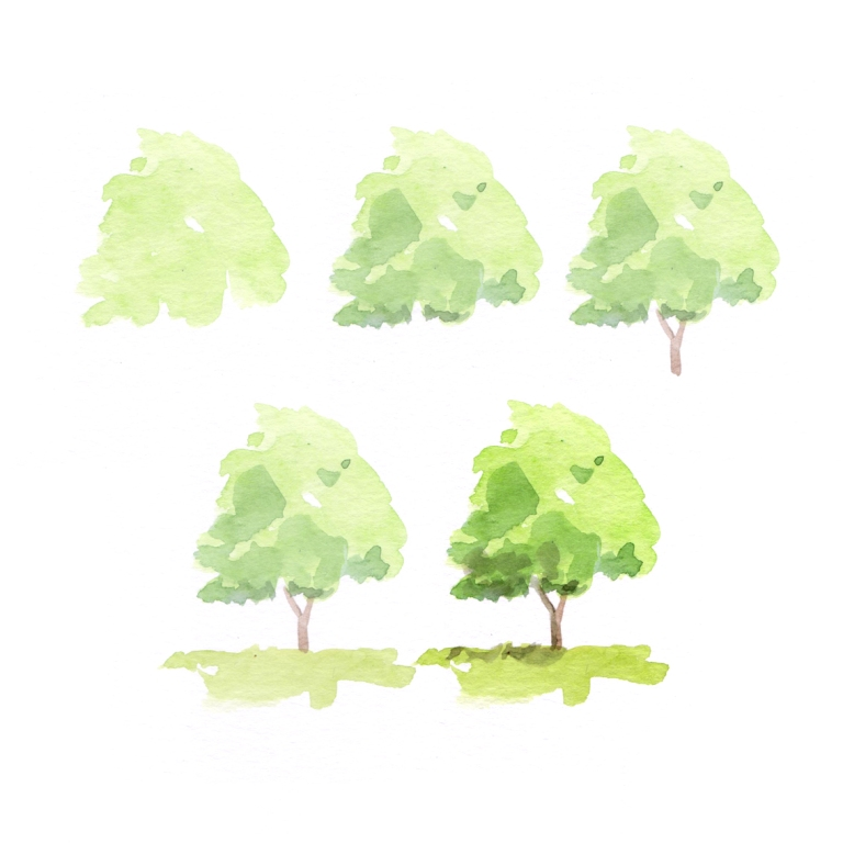trees sheet three