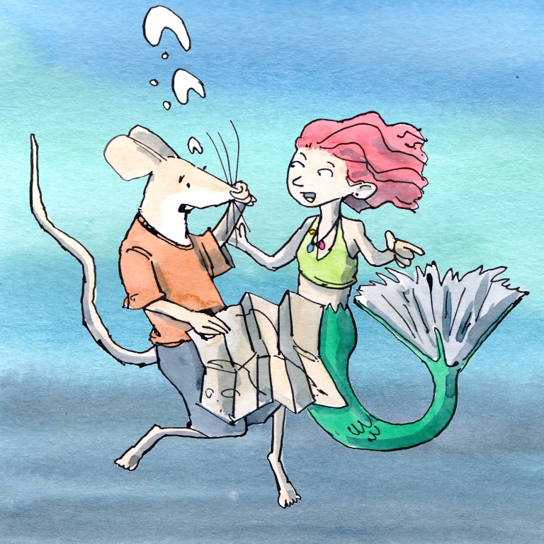 steve and the mermaid 001