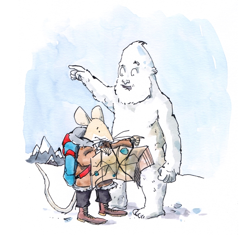 steve and the yeti 001