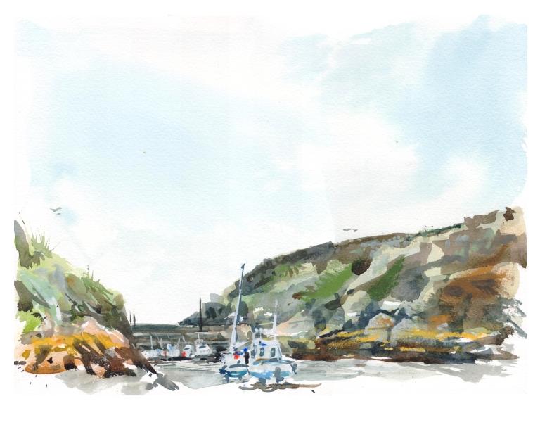 porthclais harbour 001